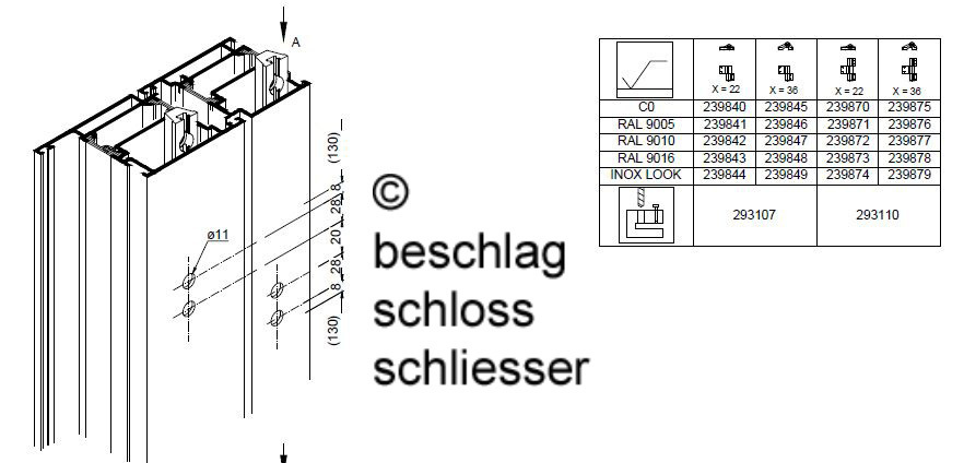 sch co 239 870 aufsatzt rband 3 teilig farbe c0. Black Bedroom Furniture Sets. Home Design Ideas