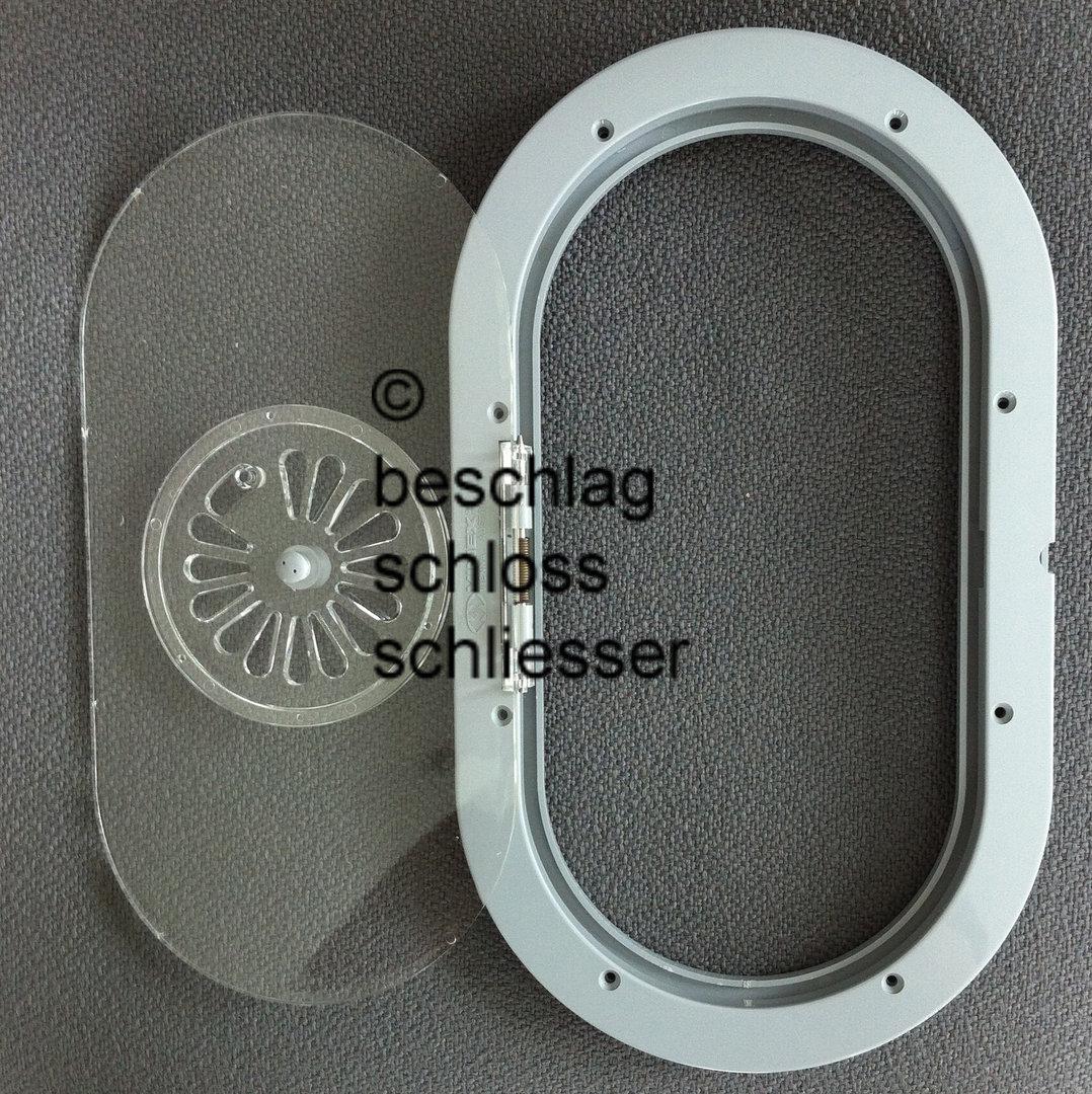 Durchsprecher oval - Kunststoff - 17-24 mm Glasstärke