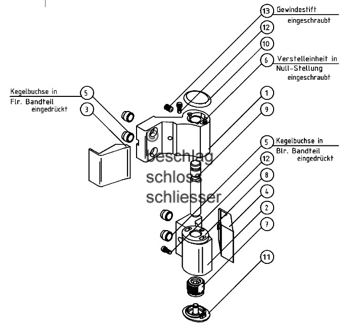 Schuco tur einstellen for Terrassentur beschlage ersatzteile