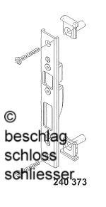 sch co 240 373 schlie blech f r schwenkhaken. Black Bedroom Furniture Sets. Home Design Ideas