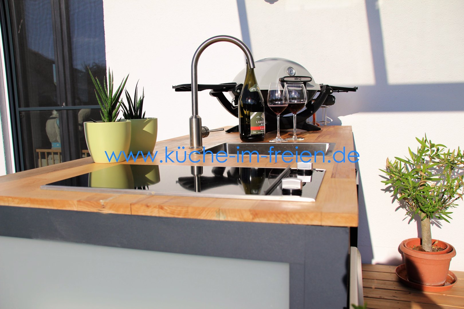 Zubehör Für Outdoor Küche : Flexible outdoorküche pico mit edelstahl einbaugrill outdoor
