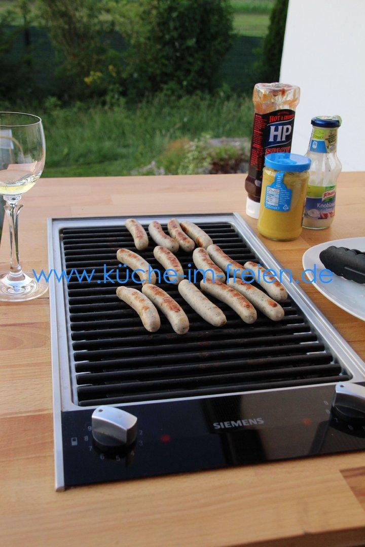 Grill Für Die Küche siemens barbecue grill iq500 für outdoor küche