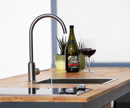 Outdoor Küche Edelstahl Zubehör : Info seite outdoorküche module material standortwahl www