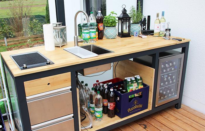 Outdoorküche Mit Kühlschrank Zubehör : Die outdoor küche kosten bauweise rezepte outdoorküche und
